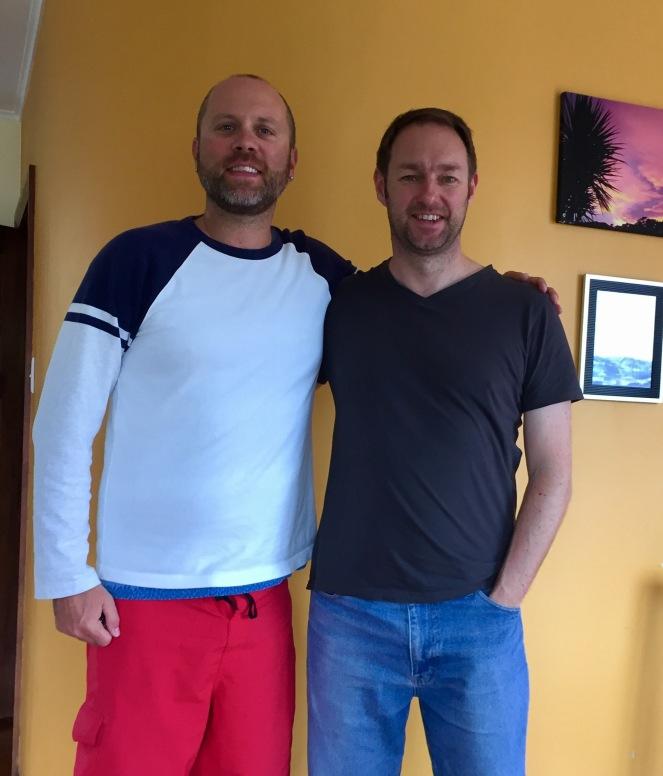 Me & Richard twenty years after graduation!