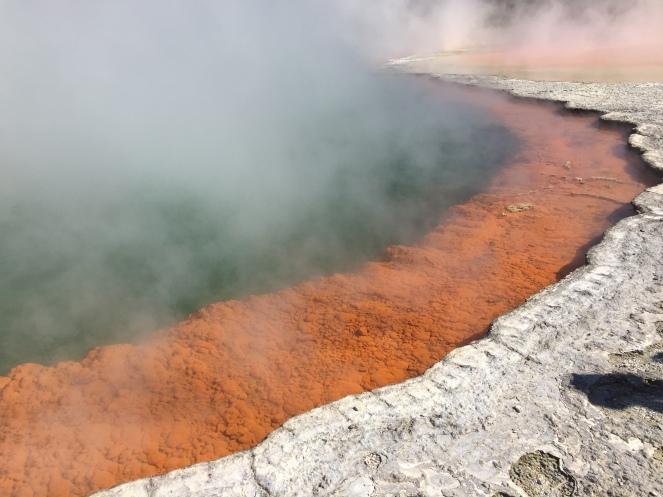 Champagne Pool, Wai-O-Tapu geothermal park