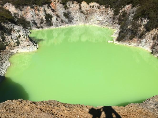The Devil's Bath, Wai-O-Tapu geothermal park