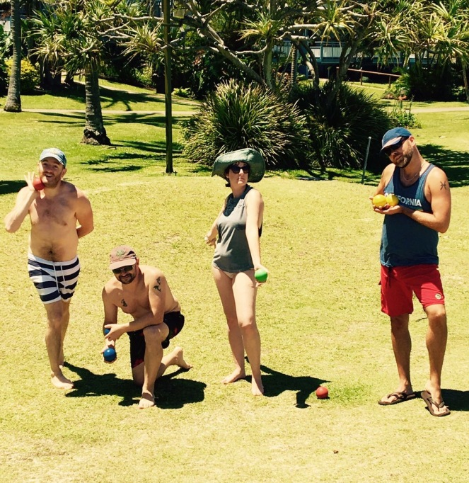 Bowls on Tangalooma