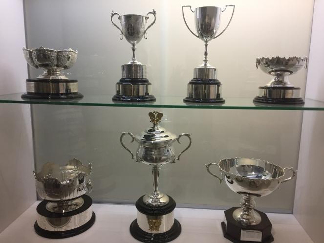 The ladies trophy