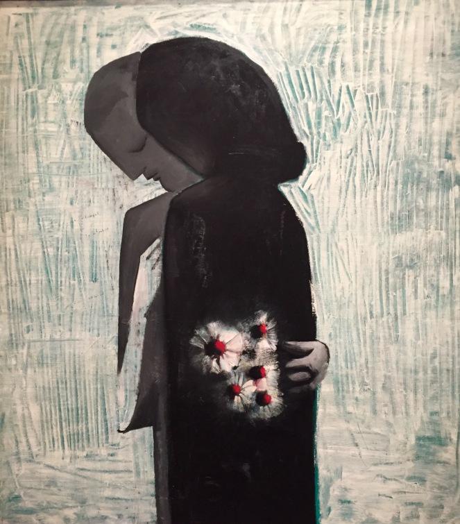 Charles Blackman, Lovers, 1960