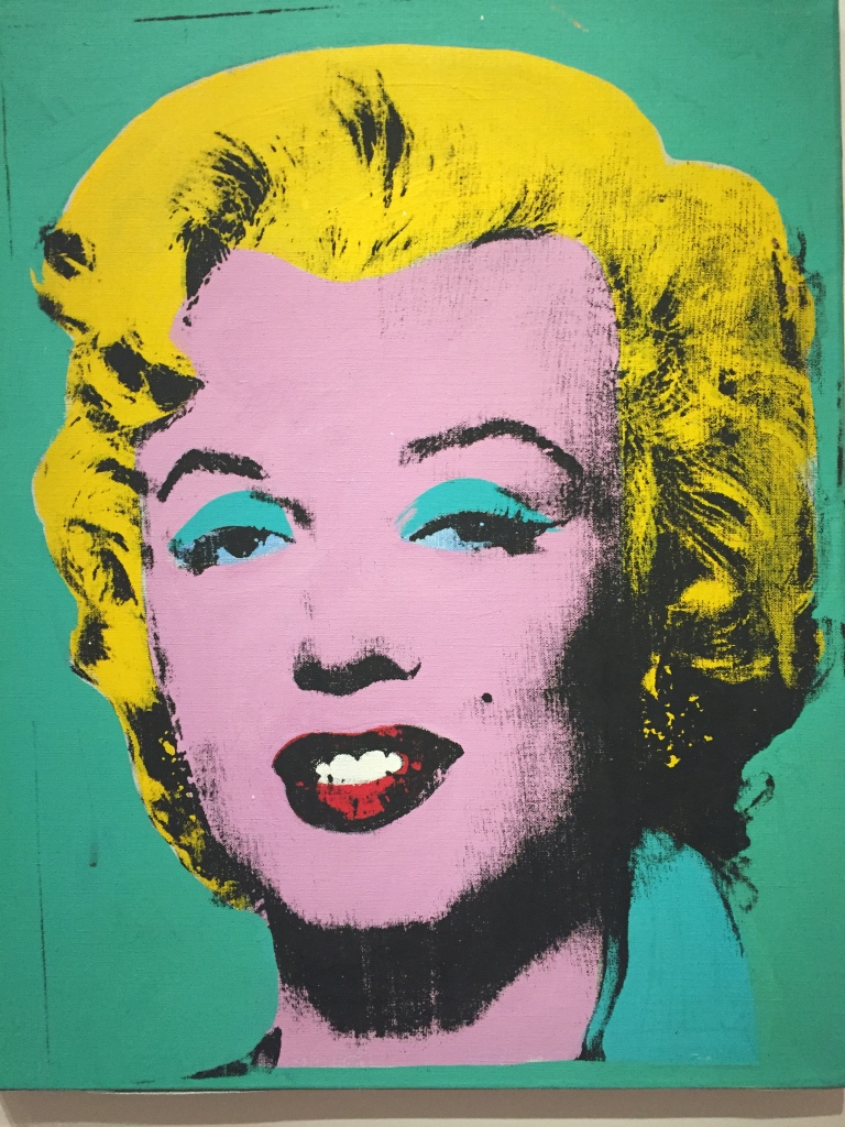 Green Marilyn by Andy Warhol 1962
