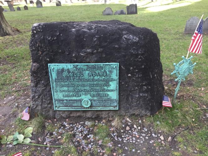 Samuel Adam's grave
