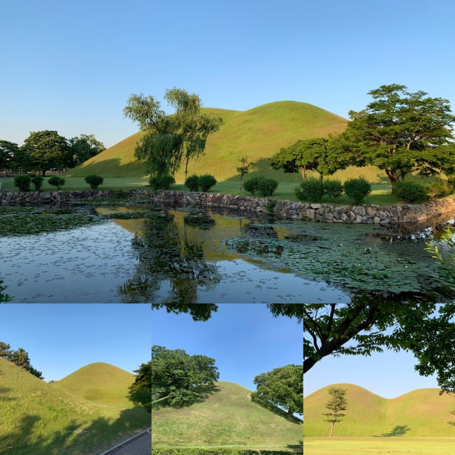 Gyeongju burial mounds