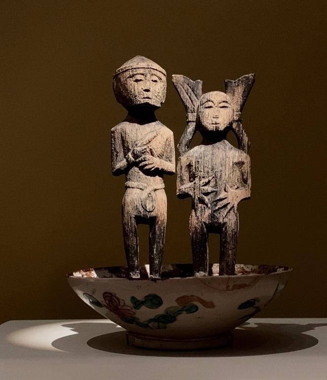 Arain deity 'Adu Sirana, Indonesia, 19thC