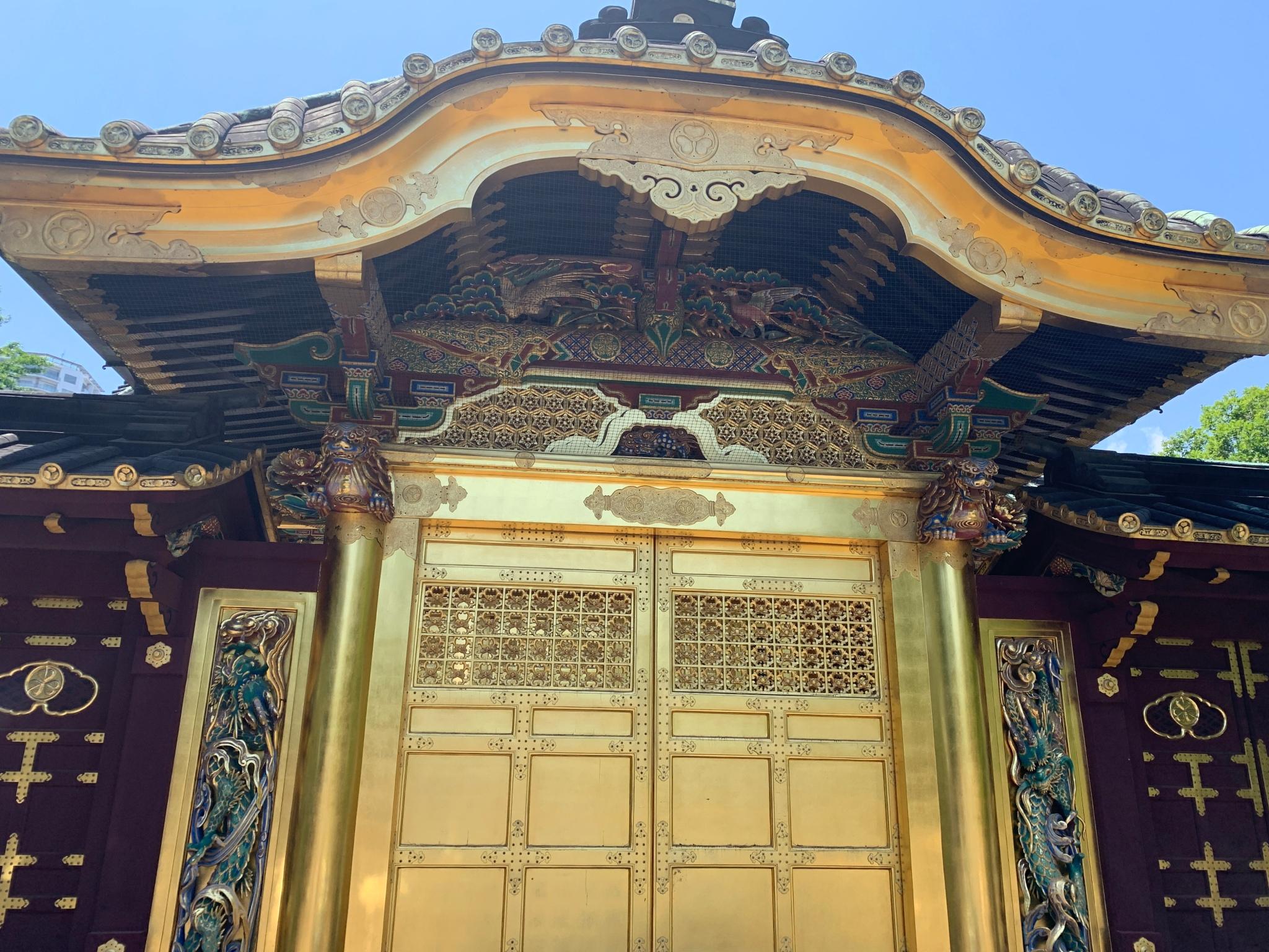 Golden temple door