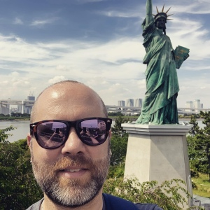 Me and my friend Lady Liberty