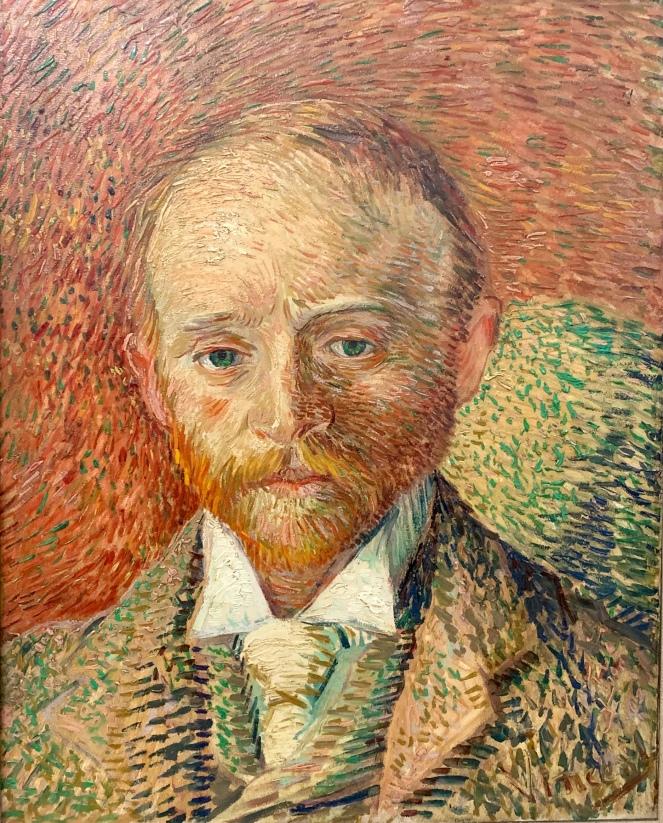 Portrait of Alexander Reid by Vincent Van Gogh, 1887