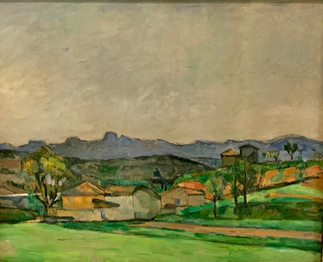 The Star Ridge with the King's Peak, by Paul Cezanne, 1879