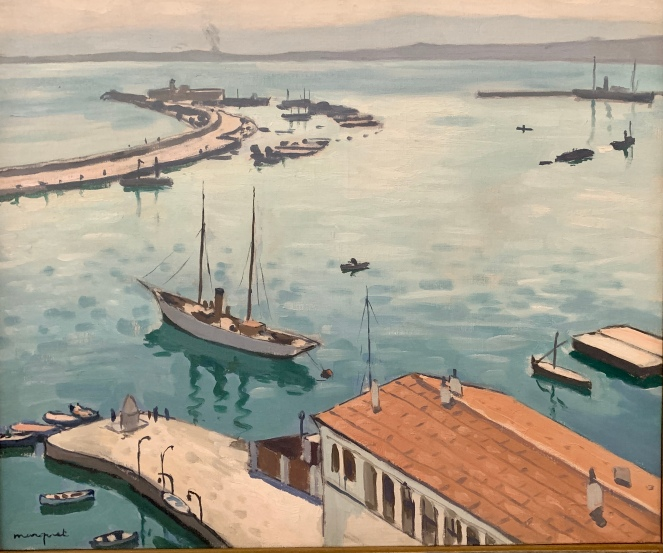 The Port of Algiers by Albert Marquet, 1922