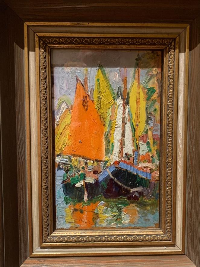 Sails, Venice by Lesley Hunter, 1922