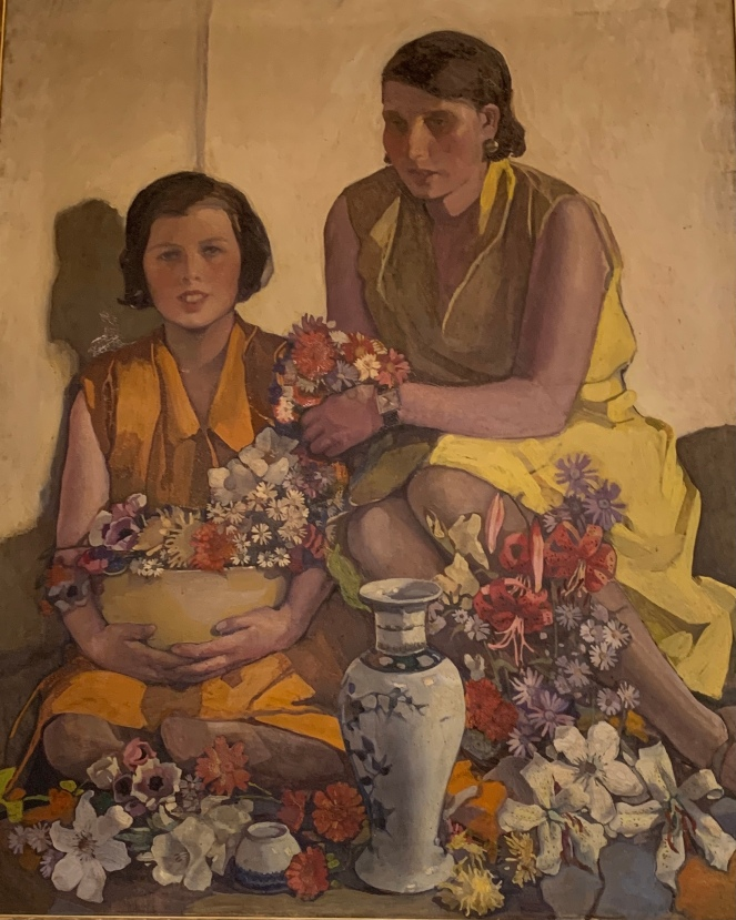 Salopian Cup and Chinese Vase by Norah Neilson Gray, 1930