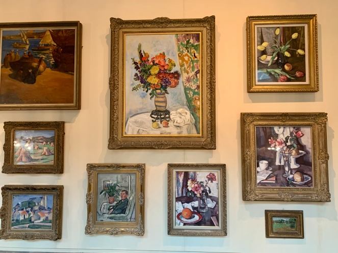 A collection of painting by the Scottish Colourists