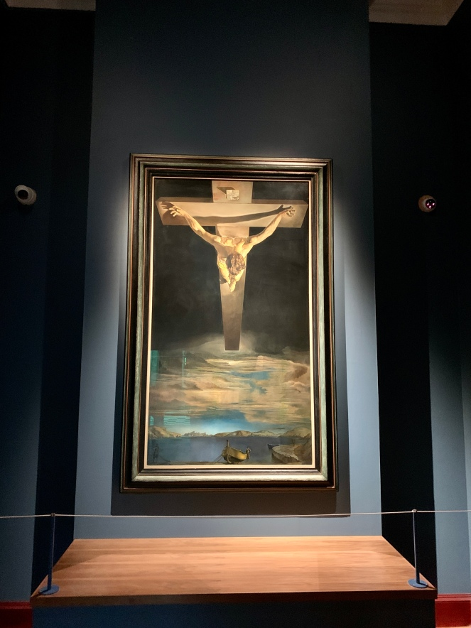 Christ of St John on the Cross by Salvador Dali, 1951