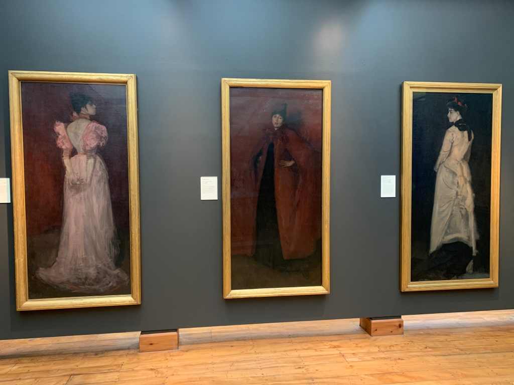 Three portraits by James McNeil Whistler at the Hunterian Gallery, Glasgow
