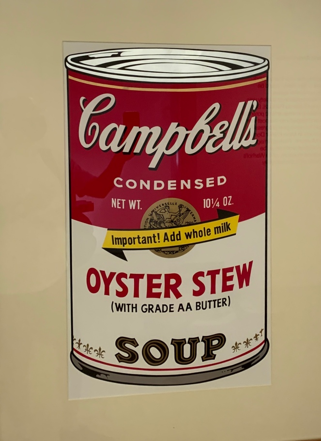 Oyster Stew Soup by Andy Warhol, 1969