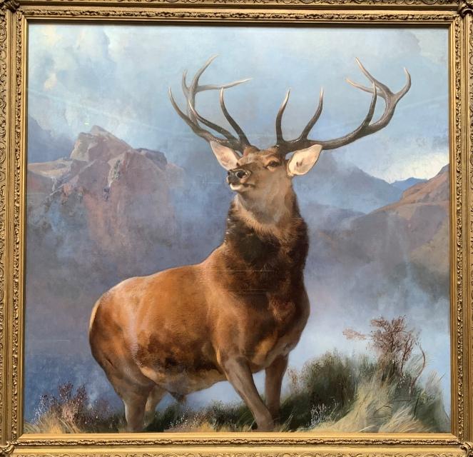 The Monarch of the Glen by Edwin Landseer, 1851