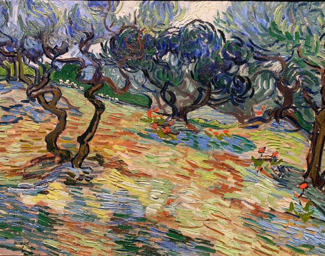 Olive Trees by Vincent Van Gogh, 1889