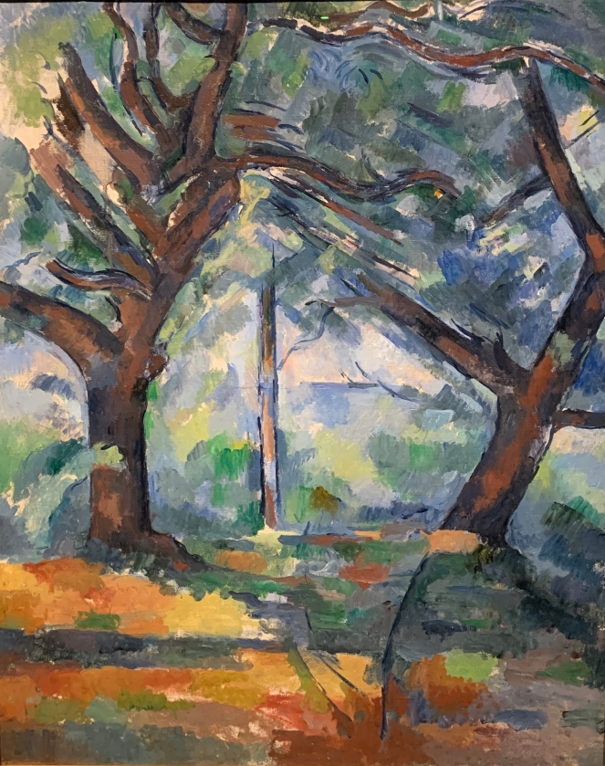 The Big Trees by Paul Cezanne, 1902