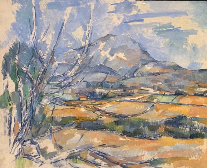 Montagne Sainte Victoire by Paul Cezanne, 1890