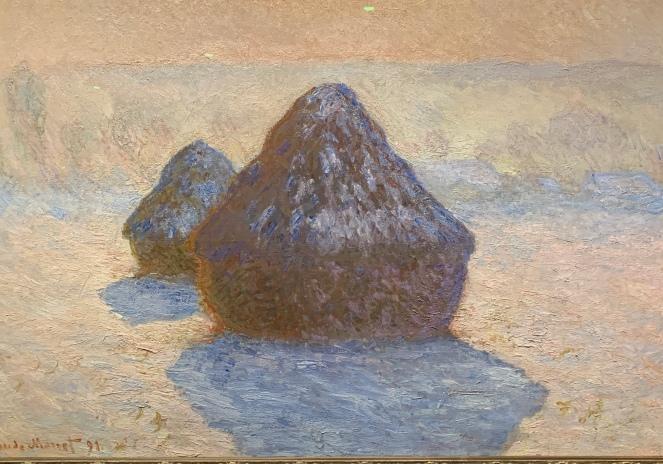 Haystacks by Claude Monet, 1891