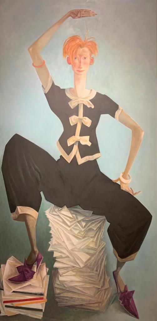 Tilda Swinton by John Byrne, 2002